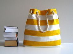 8 Free Beach Tote Bag Patterns for Summer #sewing