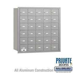 4B+ Horizontal Mailbox - 30 A Doors - Aluminum - Rear Loading - Private Access by Salsbury Industries. $945.00. 4B+ Horizontal Mailbox - 30 A Doors - Aluminum - Rear Loading - Private Access - Salsbury Industries - 820996417398. Save 10%!