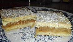 Slovak Recipes, Czech Recipes, Ethnic Recipes, Apple Pie, Tiramisu, Cheesecake, Deserts, Food And Drink, Cooking Recipes