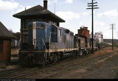 RailPictures.Net Photo: B&M 1731 Boston & Maine EMD GP9 at East Deerfield, Massachusetts by George W. Hamlin