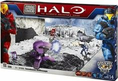 Halo Mega Bloks Exclusive Set #97068 Versus Snowbound Battlescape by Mega Brands. $36.99. Includes 3 Minifigures UNSC Spartan Scout, Covenant Elite Commando and UNSC Spartan Recon.