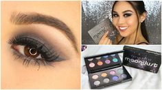 Urban Decay Moondust Palette Eyeshadow Tutorial |  @urbandecay Review by @RoxetteArisa for @MyBeautyBunny