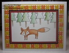 Life in the Forest + a TILED border by Pennie McCallum