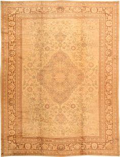 Antique Turkish Oushak Rug 2675 antique oushak carpet 26752