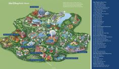 Disney World carte des parcs - Disney World resort map (Floride - USA) Walt Disney World, Disney World Resorts, Disney Park Maps, Disney Map, Disney World Florida, Disney World Vacation, Disney Vacations, Disney Trips, Disney Parks
