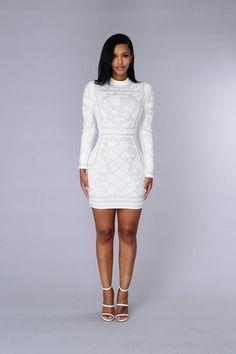Royalty Dress - White