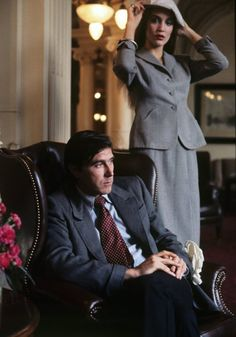 Jerry Hall and Bryan Ferry in 1976