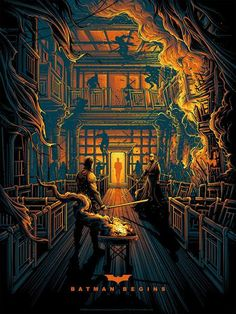 'Batman Begins' (Variant Edition) by Dan Mumford