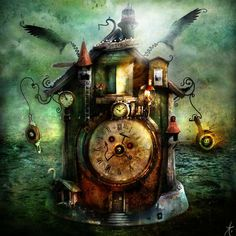 Steampunk Art | ... steampunk art, steampunk picture, steampunk clock - Steampunk pictures