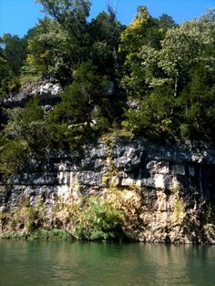 Missouri bluffs ... pictures like this make me miss my old home. Not enough to move back here, mind you.