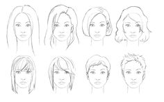 Tips and Tricks: How to draw hair. (Female)  By: ShareNoesis Found at: http://sharenoesis.com/article/draw-hair-female/795