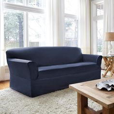 CoverWorks Tara Twill slipcovers refresh your living space using the sleek and luxuriously soft texture of twill.