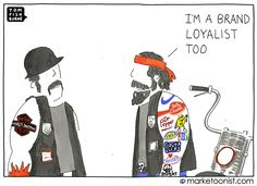 Marketoonist is the thought bubble of Tom Fishburne. Marketing cartoons, content marketing with a sense of humor, keynote speaking. Inbound Marketing, Content Marketing, Internet Marketing, Marketing And Advertising, Online Marketing, Advertising Campaign, Logo Quiz Games, Haha Funny, Funny Memes