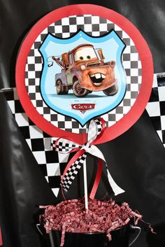 "Photo 39 of 73: Cars / Birthday ""Ethan's Lightning McQueen 3rd Birthday "" 