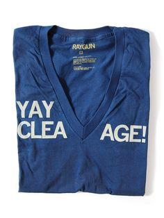 "The ""Yay Cleavage!"" T-Shirt"