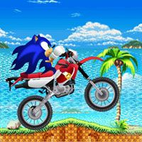 A Full charged Sonic is back with moto Adventure. Your main objective is to cross the obstacles on your way by controlling your bike. Collect more points to score high. Have a Fun Ride !