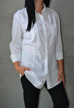 Рубашка удлиненная tommy hilfiger Tommy Hilfiger за 265 грн. Tops, Women, Fashion, Moda, Fashion Styles, Fashion Illustrations, Woman