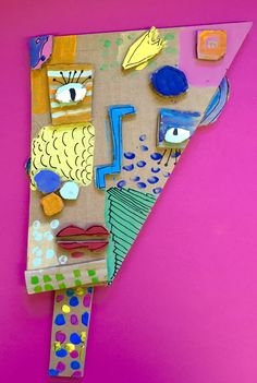 À la manière de Kimmy Cantrell  5ème année 3rd Grade Art, Grade 3, Cardboard Art, 3 Arts, Tree Branches, Art Projects, Art Ideas, Art Pieces, Creative