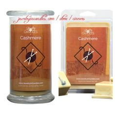 #ScentSunday: #Cashmere is a comforting blend of tangerine, vanilla cashmere, sandalwood & amber. https://jewelryincandles.com/store/cinners