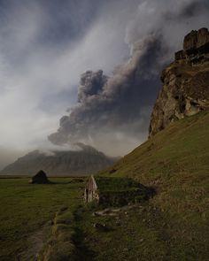 Eyjafjallajökull - Volcanic eruption