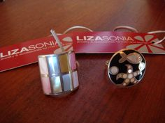 Up for the silent auction benefitting FAIR Girls will be these amazing rings donted by LIZASonia Designs (http://www.lizasonia.com/)! The first is a multi-colored pearl inlaid into silver. The sea-themed ring white mother of perl inlay into silver as well. They retail for $50 each. Thank you Liza!    http://www.sfstation.com/mid-century-benefit-against-child-sex-slave-trade-e1941252