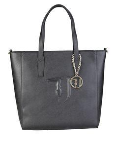 Shopping bag donna  Nero TRUSSARDI JEANS - Autunno Inverno - titalola.