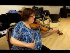 Donna Hebert playing Gaspe and Dad's Reel for the VFO