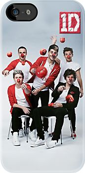 Funny Cute 1D One direction with Clown Style - Apple iPhone 5, iphone 4 4s, iPhone 3Gs, iPod Touch 4g case