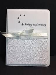 Image result for handmade anniversary cards for parents
