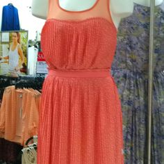 Fabulous coral dress by LC at kohls