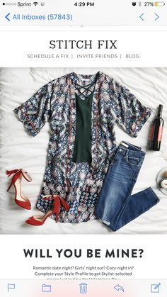 TRY STITCH FIX! February 2018 style trends! If you haven't tried stitch fix you won't regret it! It's an amazing clothing subscription service. A personal stylist for only $20! Every box is especially made for you! Use this pins as style inspiration! Click photo now to sign up! #Sponsored #Stitchfix