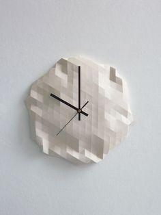 Origami Clock