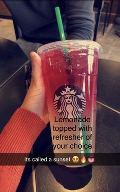 Starbucks Specialty Drinks, Starbucks Tea, Starbucks Hacks, Healthy Starbucks Drinks, Starbucks Secret Menu Drinks, Starbucks Order, Smoothies, Smoothie Drinks, Starbuck Drinks