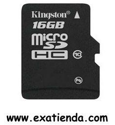 Ya disponible Memoria dg Kingston msd 16gb clase 10    (por sólo 20.95 € IVA incluído):   -Incluye: Micro SD -Compatible con: Micro SD -Capacidad:16 GB -Clase:10 -P/N:SDC10/16GB   Garantía de 24 meses.  http://www.exabyteinformatica.com/tienda/1867-memoria-dg-kingston-msd-16gb-clase-10 #tarjeta #exabyteinformatica