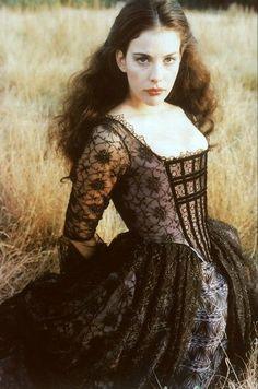 Lady Rebecca Gibson (Liv Tyler) in Plunkett and Macleane