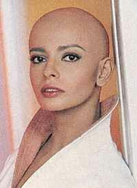 The late great Persis Khambatta as Ilia from Star Trek: The Motion Picture. 1980, Paramount Pictures.