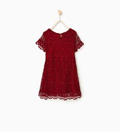 Image 4 of Guipure lace dress from Zara