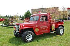 North Mountain Volunteer Fire Department - Mt. Falls, VA - Jeep Brush Truck Jeep Cars, Jeep Truck, Classic Trucks, Classic Cars, Brush Truck, Jeep Brand, Volunteer Fire Department, Jeep Commander, Firetruck