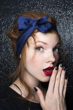 8 idee di turbanti, fasce e foulard per coprire i capelli estate 2014 - MarieClaire