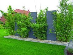 moderne-gartengestaltung-rasen-betonfliesen-pflaster-pflanzen-kies, Terrassen deko