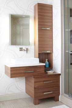 1000 images about vanit de salle de bain contemporaine on pinterest armoire de cuisine. Black Bedroom Furniture Sets. Home Design Ideas