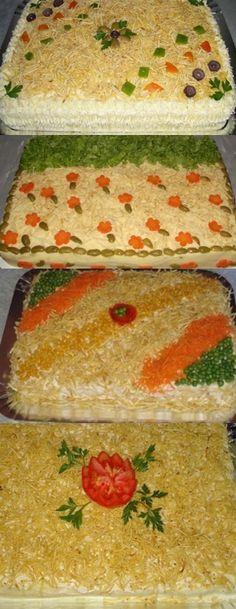 Bolo Salgado De Frango #bolo #bolosalgado #receita #culinária #gastronomia #pilotandofogao