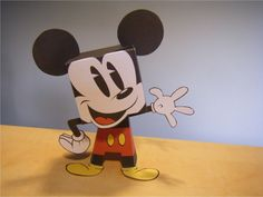 Imprimible de Mickey Mouse de Disney