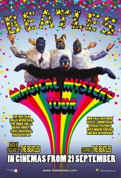 Torna il folle cinema psichedelico dei Fab Four di Liverpool, i #Beatles. Tutti pronti? Si parte allora per il #MagicalMysteryTour
