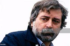 Foto di attualità : Singer-songwriter Francesco Guccini. Italy, 1990