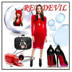 Red Devil | Women's Outfit | ASOS Fashion Finder