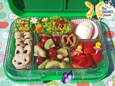 Lunchbox Inspiration Yumbox spring garden bento box. Lunchbox and all accessories from www.thelunchboxqu.... Lunchbox Inspiration – The Lunchbox Queen #children health activities #children health care #children health ideas #children health tips #children healthy meals #Inspiration #Lunchbox<br> Bento Box Lunch For Kids, Kids Lunch For School, Healthy School Lunches, Lunch Snacks, Lunch Ideas, Kid Lunches, Lunch Box Recipes, Baby Food Recipes, Healthy Recipes