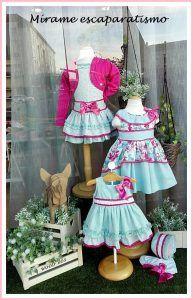 Primavera en moda infantil. | Escaparates de Primavera