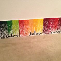 Crayon drip canvas -- based around my class rules and school's mission statement! School Auction Projects, Family Mission Statements, Mission Vision, Class Rules, Leader In Me, Classroom Decor, Halloween Decorations, School Stuff, Art Projects