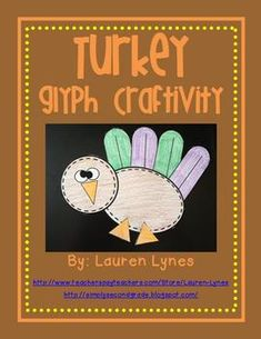 Need a quick and easy activity for your kiddos around Thanksgiving? Check out this cute turkey glyph!